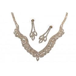 Komplet biżuterii dżetowy - MF0447B-2