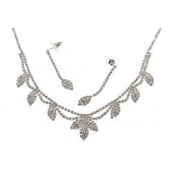 Komplet biżuterii dżetowy - MF0548