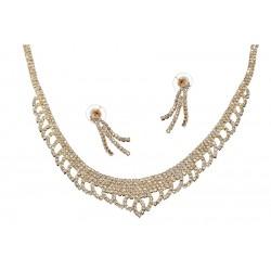 Komplet biżuterii dżetowy - MF0445B