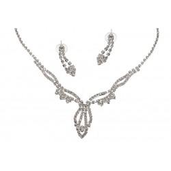 Komplet biżuterii dżetowy - MF0542