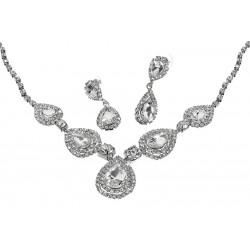 Komplet biżuterii dżetowy - MF0543-1