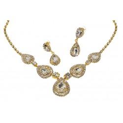 Komplet biżuterii dżetowy - MF0543-2