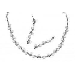 Komplet biżuterii dżetowy - MF0544-2