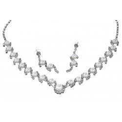 Komplet biżuterii dżetowy - MF0545-1
