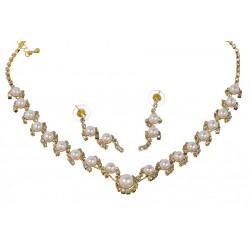 Komplet biżuterii dżetowy - MF0545-2