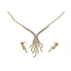 Komplet biżuterii dżetowy - MF0546-1
