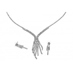 Komplet biżuterii dżetowy - MF0546-2
