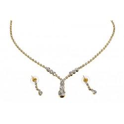 Komplet biżuterii dżetowy - MF0547-1