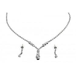 Komplet biżuterii dżetowy - MF0547-2