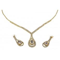 Komplet biżuterii dżetowy - MF0549-1