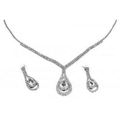 Komplet biżuterii dżetowy - MF0549-2