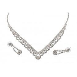Komplet biżuterii dżetowy - MF0550
