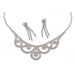 Komplet biżuterii dżetowy - MF0551