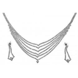 Komplet biżuterii dżetowy - MF0552-1