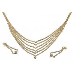 Komplet biżuterii dżetowy - MF0552-2