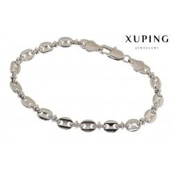 Bransoletka rodowana - Xuping - FM1094