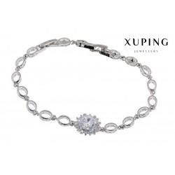 Bransoletka rodowana - Xuping - MF1148