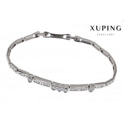 Bransoletka rodowana - Xuping - MF1172