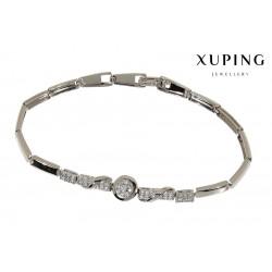Bransoletka rodowana - Xuping - MF1218