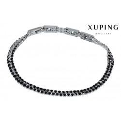 Bransoletka rodowana - Xuping - MF1219-2