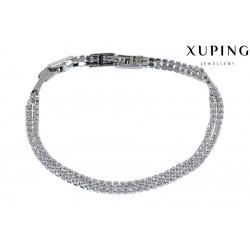 Bransoletka rodowana - Xuping - MF1219-1