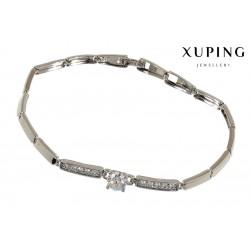 Bransoletka rodowana - Xuping - MF1273