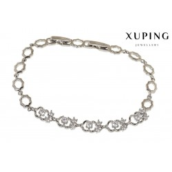 Bransoletka rodowana - Xuping - MF1275