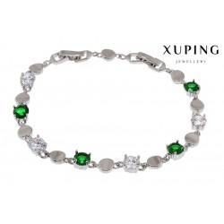 Bransoletka rodowana - Xuping - MF1448-1