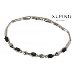 Bransoletka rodowana - Xuping - MF1450-2