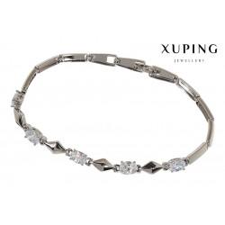 Bransoletka rodowana - Xuping - MF1450-1
