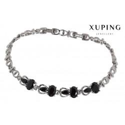 Bransoletka rodowana - Xuping - MF1458