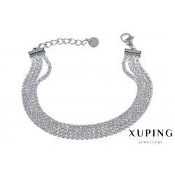 Bransoletka rodowana - Xuping - MF1461-2