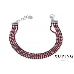 Bransoletka rodowana - Xuping - MF1461-1