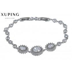 Bransoletka rodowana - Xuping - MF1464