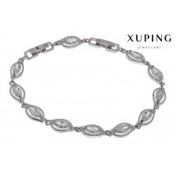 Bransoletka rodowana - Xuping - MF1467-1