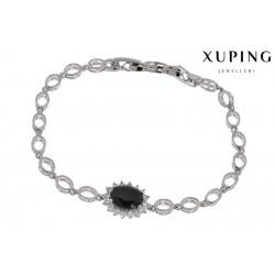 Bransoletka rodowana - Xuping - MF1148-1