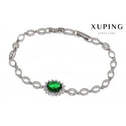 Bransoletka rodowana - Xuping - MF1148-2