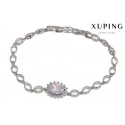 Bransoletka rodowana - Xuping - MF1148-3