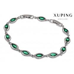 Bransoletka rodowana - Xuping - MF1467-2