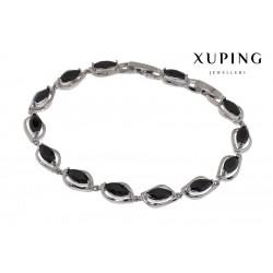 Bransoletka rodowana - Xuping - MF1467-3