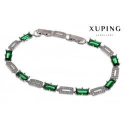 Bransoletka rodowana - Xuping - MF1469-2