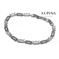 Bransoletka rodowana - Xuping - MF1469-1