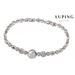 Bransoletka rodowana - Xuping - MF1472