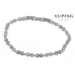 Bransoletka rodowana - Xuping - MF1473
