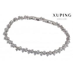 Bransoletka rodowana - Xuping - MF1475