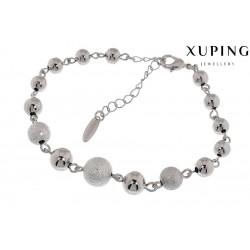 Bransoletka rodowana - Xuping - MF1480