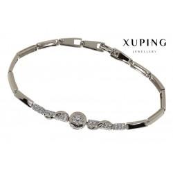 Bransoletka rodowana - Xuping - MF1484
