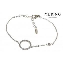 Bransoletka rodowana - Xuping - MF1487