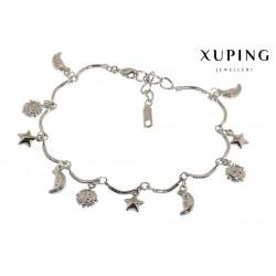 Bransoletka rodowana - Xuping - MF1494