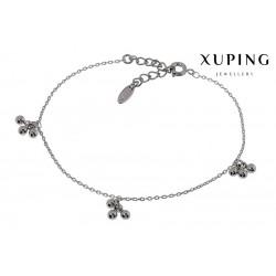 Bransoletka rodowana - Xuping - MF1199